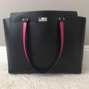 NWT Black Kate Spade Large Kellen Arbour Hil Bag